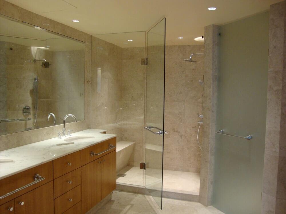 Mẫu Cabin phòng tắm kính đẹp hiện đại